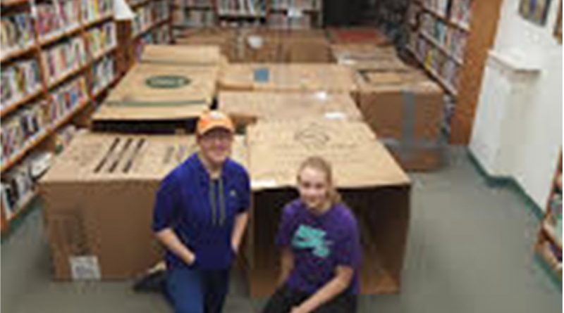 Take a Break and Build at the Library – February 21-24th