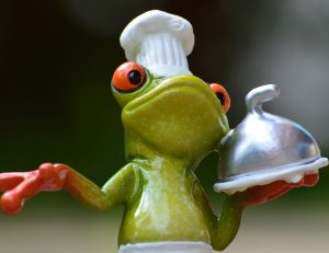 cooking frog