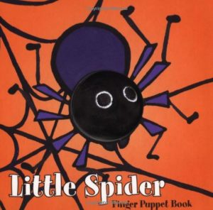 spider finger puppet book
