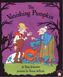 vanishing pumpkin tomie de paola depaola