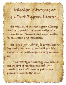 2018-1 Library Mission Statement
