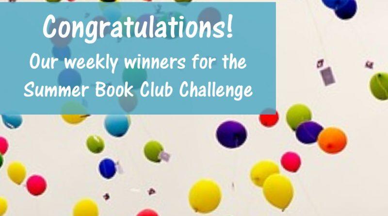 2018 Summer Book Club Challenge Winners!