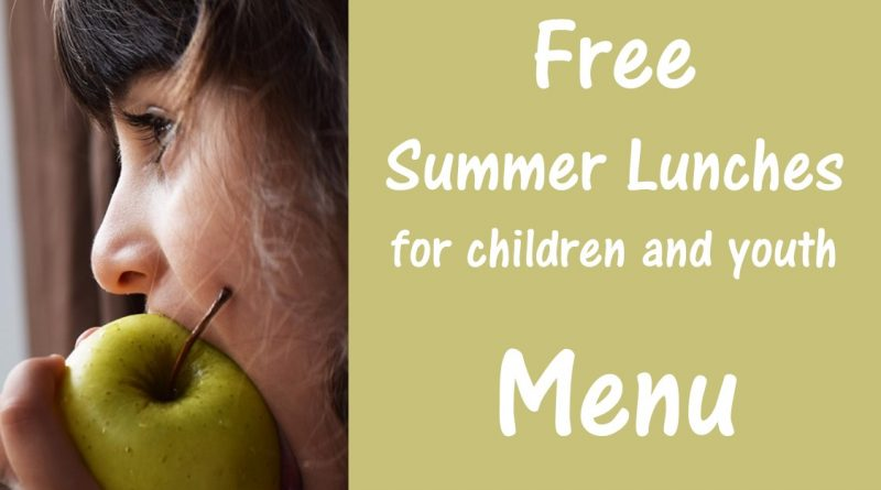FREE Summer Lunches at the Library