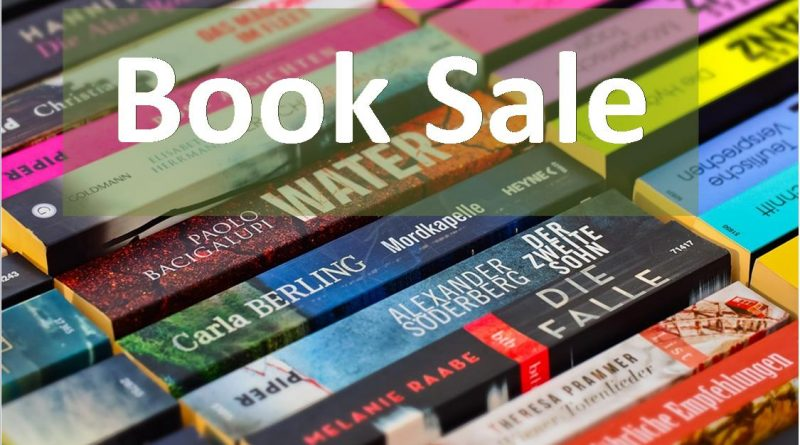 Library Book Sale January 19th