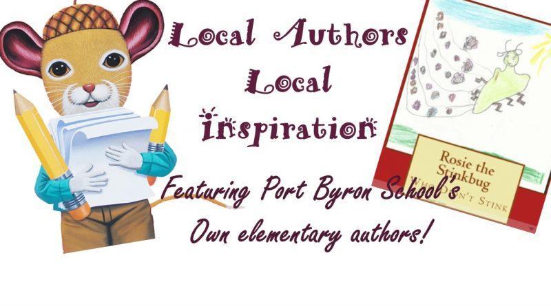Local Authors = Local Inspiration!!