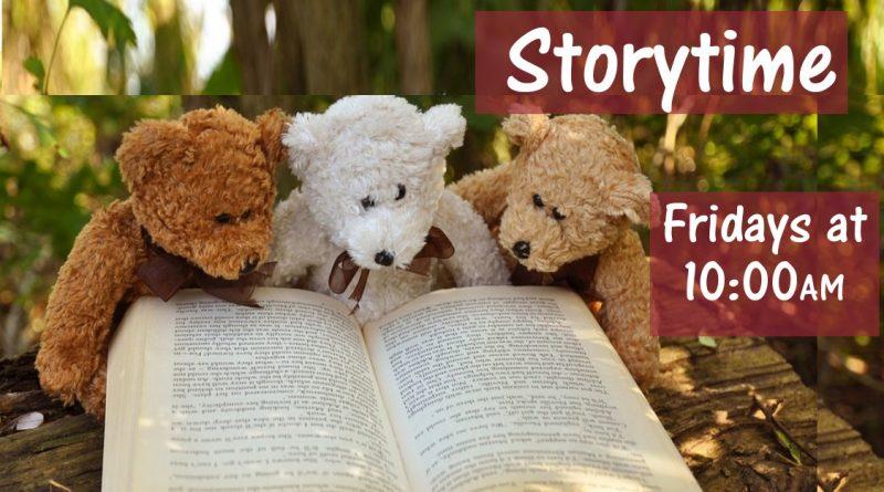 Storytime on Fridays