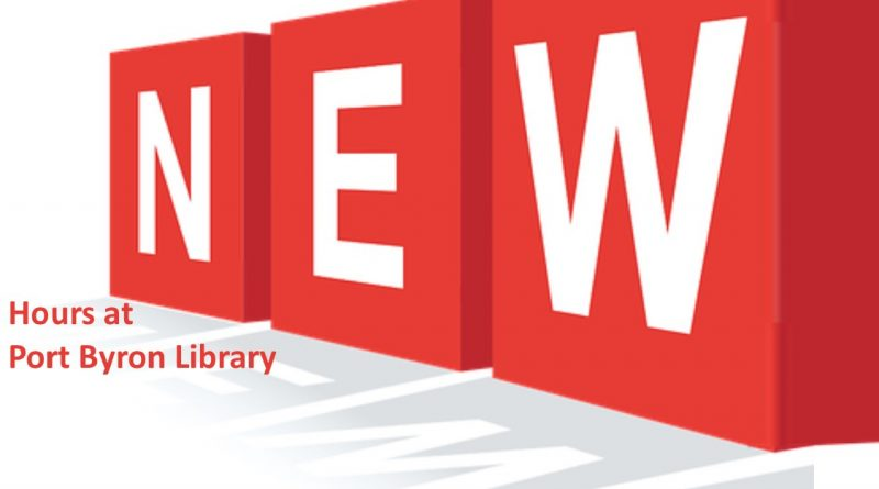 New Library Open Hours