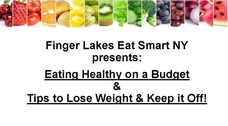 FREE Information Sessions w/ Eat Smart NY