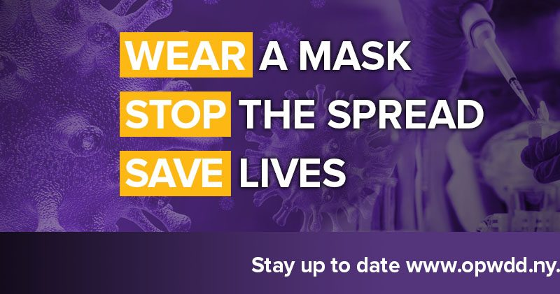 Wear a mask stop the spread save lives